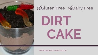 How to make Gluten Free & Dairy Free DIRT CAKE!