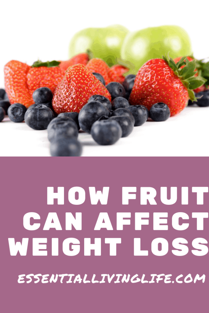 How fruit can affect weight loss